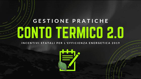 gestione pratiche conto termico 2.0